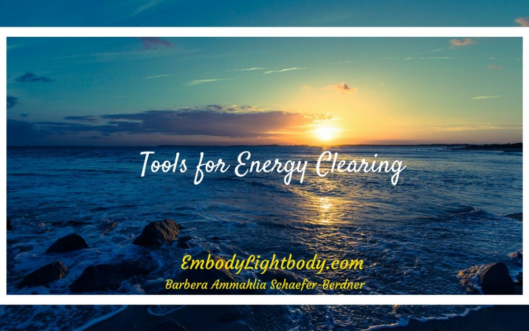Tools for Energy Clearing